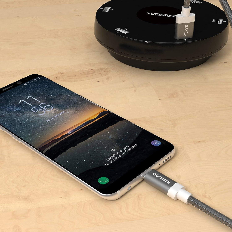 K02 USB C Kabel auf 3 0 Schnellladekabel 1m Typ C Amazon puter & Zubehör