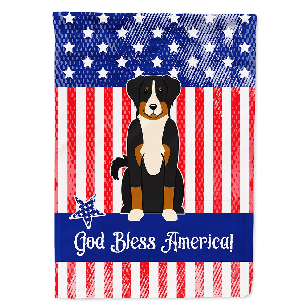 Amazon Com Patriotic Usa Appenzeller Sennenhund Flag