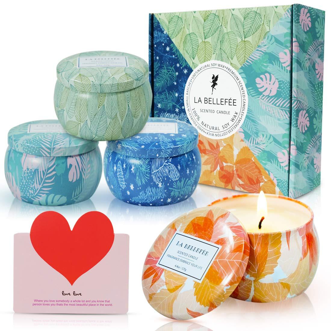 BUSY ABEILLES Floral Miel Bougie parfumée pot Coffret Cadeau