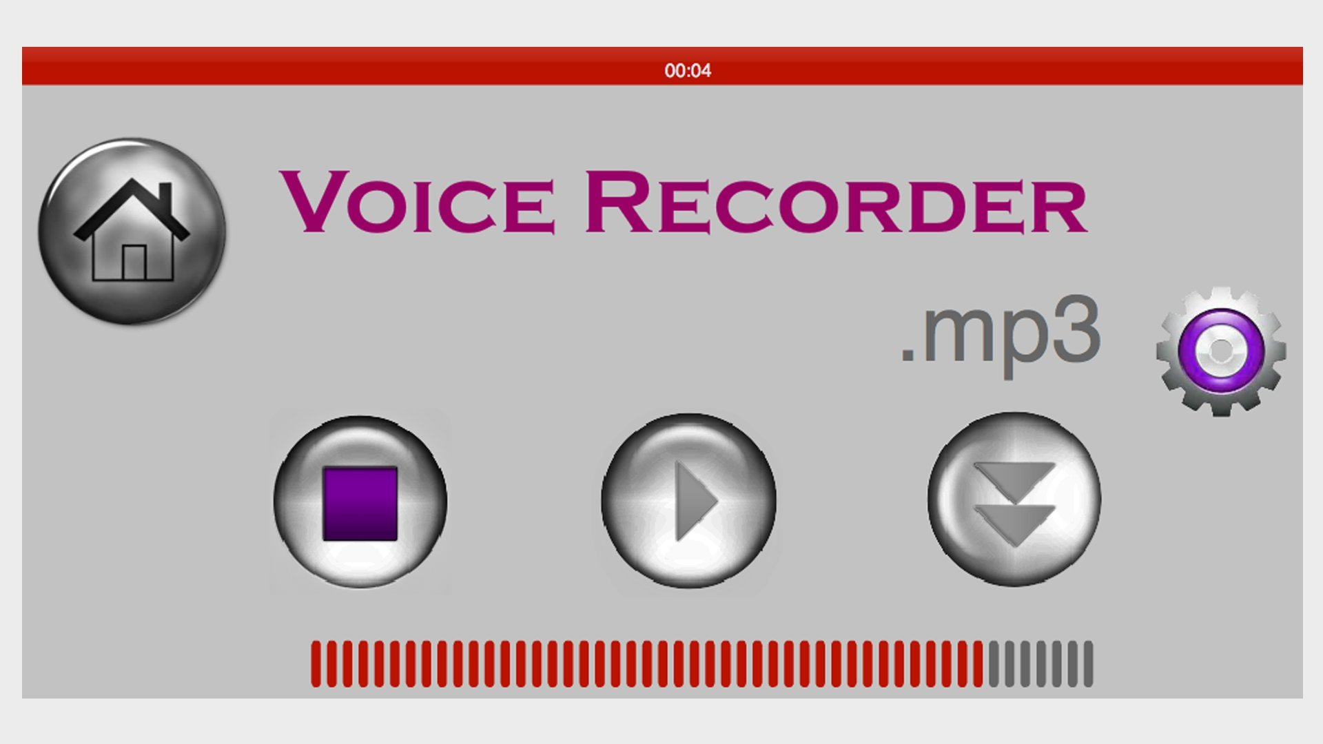 Voice Recording Softwaer by DigiGalaxy LLC (Image #2)