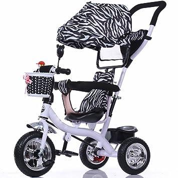 Wu Multifuncional Triciclo para Niños Carrito de Bicicleta de Bebé Asiento Giratorio Bebé Bicicleta Carro de Bebé,UN: Amazon.es: Hogar
