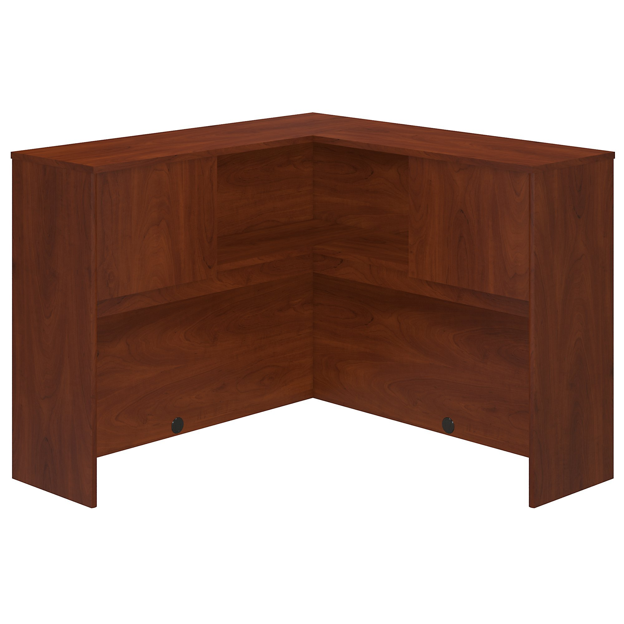 Bush Business Furniture Series C Elite 48W Corner Hutch in Hansen Cherry