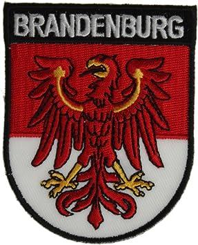 Yantec Wappen Patch Brandenburg Aufnäher Sport Freizeit