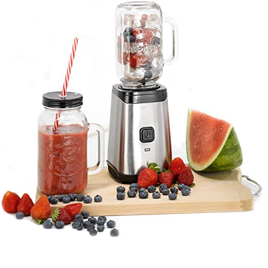 118) Smoothie maker Mason batidora licuadora 500 ml y 320 W ...