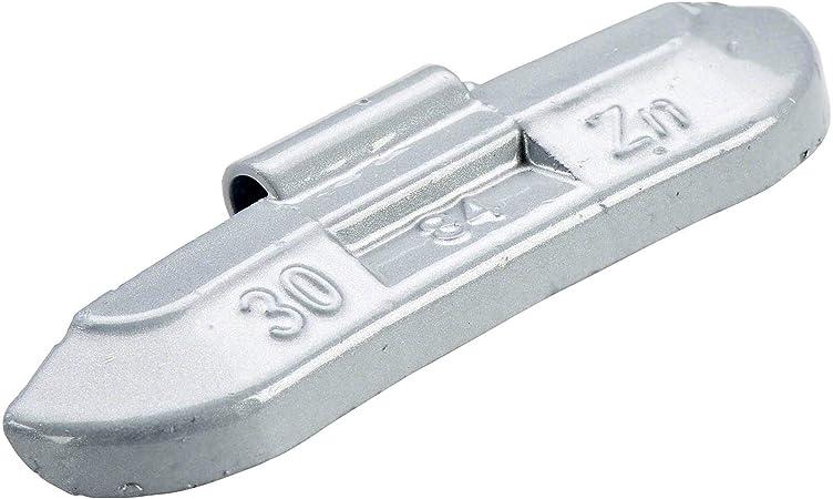 Perfect Equipment 3184 0302 151 Wuchtgewichte Stahlfelgen 30g 100x Schlaggewichte Silber Beschichtet Auswuchtgewichte Stahlfelgen Schlaggewicht Stahl Auto