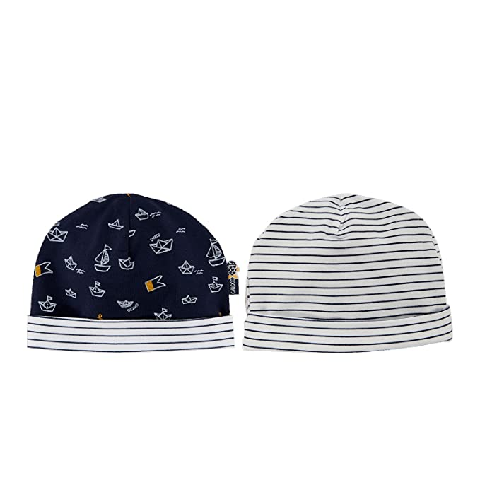 Cappello reversibile jersey stretch (6M-9M)  Amazon.it  Abbigliamento f0a816579667