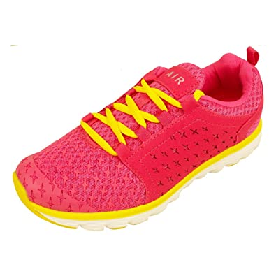 Womens Shock Absorbing Running Shoes Trainers Ladies Gym Shoe Fitness  Trainer 5