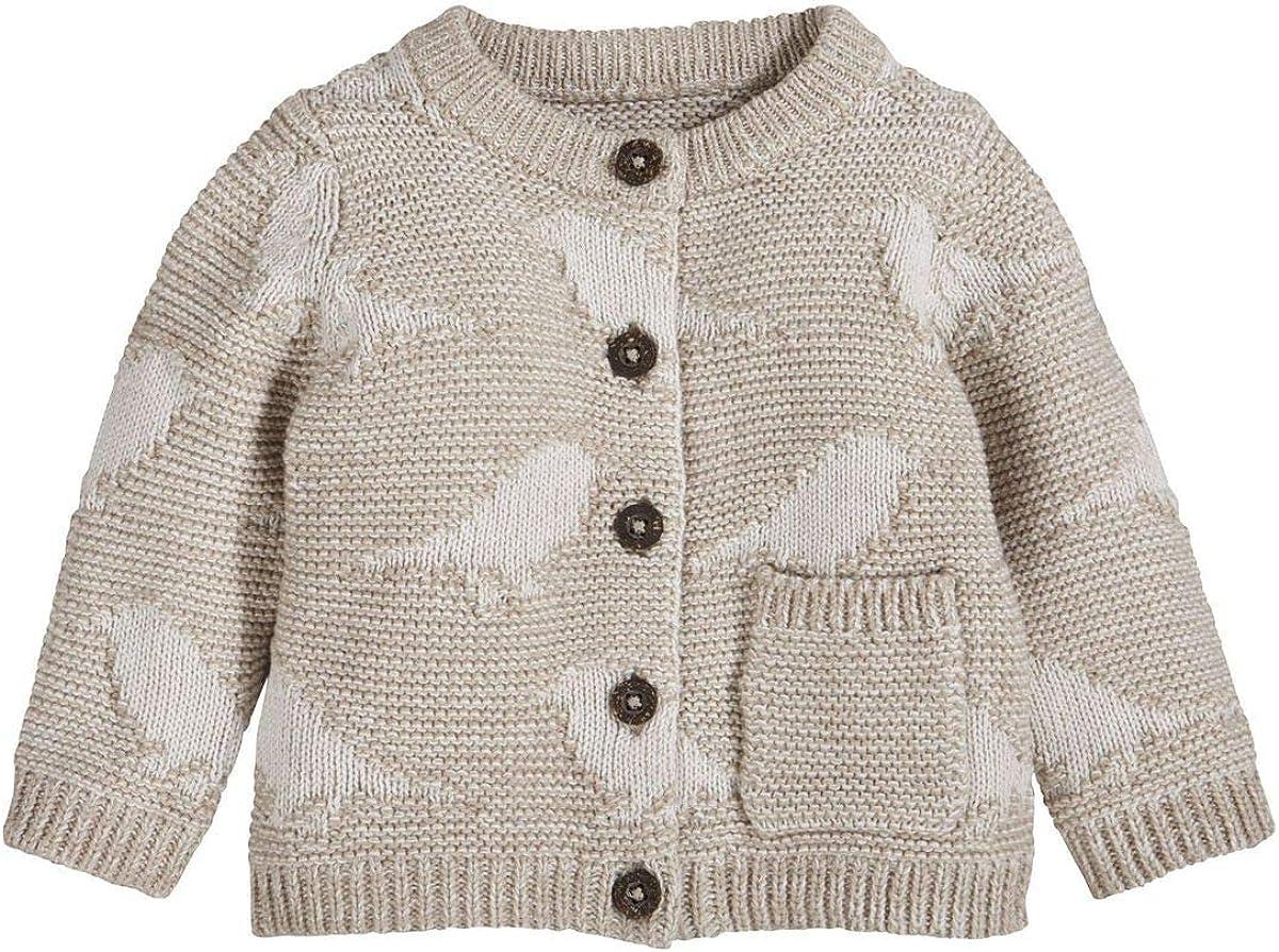 Organic lupilu M/ädchen Baby Strickjacke 100/% Baumwolle