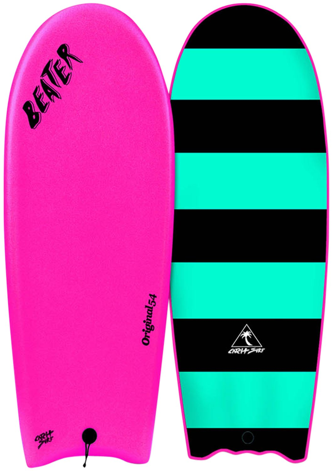 Catch Surf Beater Original 54 - Finless, Hot Pink, One Size