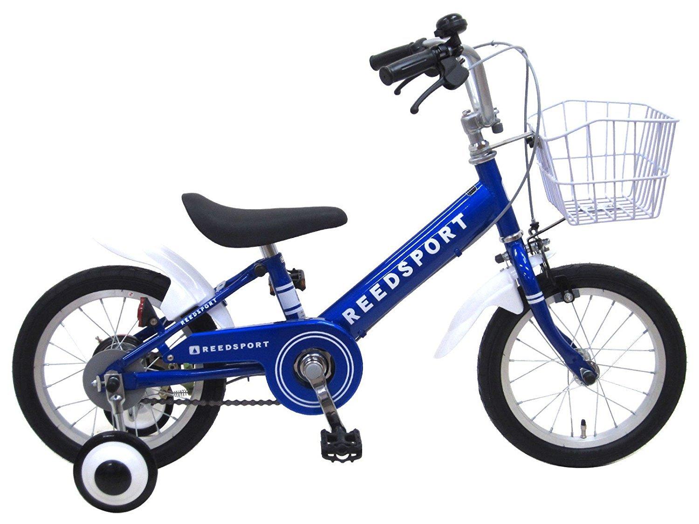 【組立済み】 リーズポート(REEDSPORT) 補助輪付き 子供用自転車 幼児自転車 B01M9IF2SU 18インチ|ブルー ブルー 18インチ
