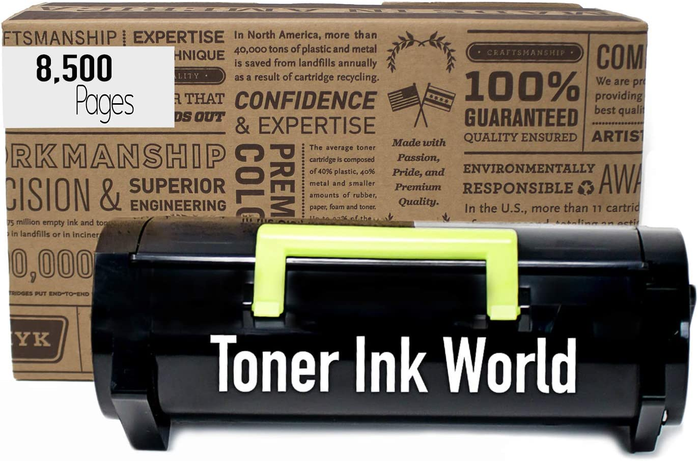B2360dn High Yield 8,500 B3460 B3460 B2360d B3460dn Be Green Ink Dell b2360dn m11xh Toner Cartridge Compatible 331-9805 for B2360