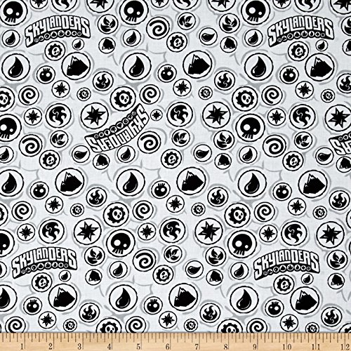 Skylanders Icons White Fabric -