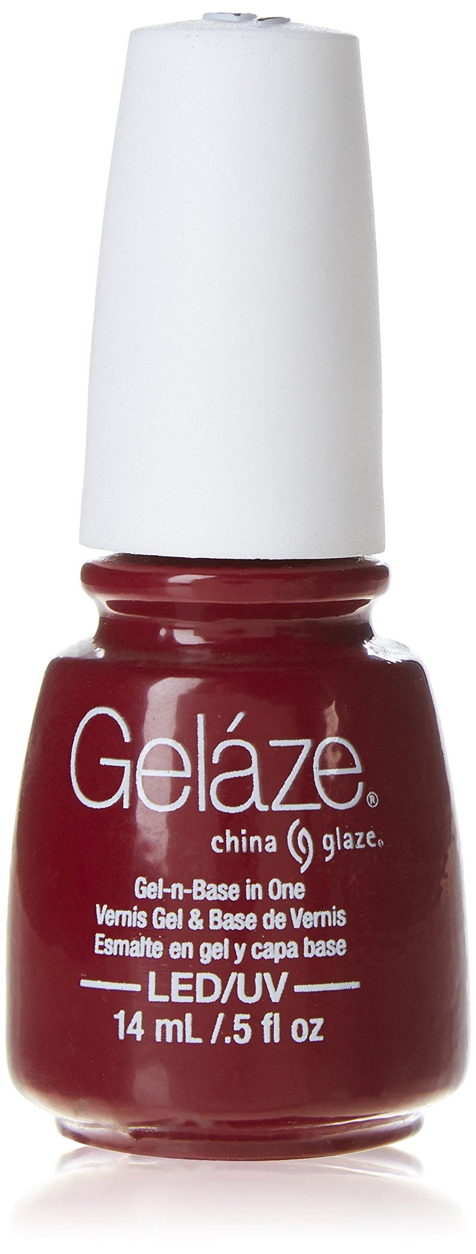 Amazon.com : China Glaze Gelaze 100% Gel-n-Base Polish, Lubu Heels ...