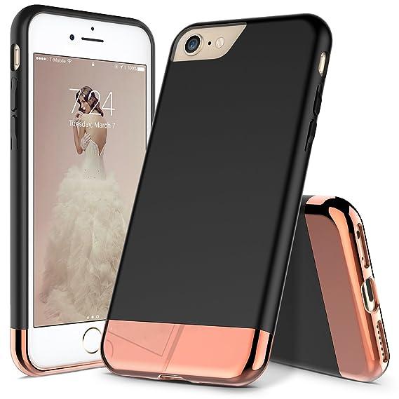 iphone 8 case black rose gold