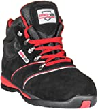 Steel Toe Suede Leather - Unisex Work Safety Hiker Boot - EN Tested - SRA Rated