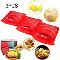 3 PCS Patata Microondas Bolsa Potato Express Pouch