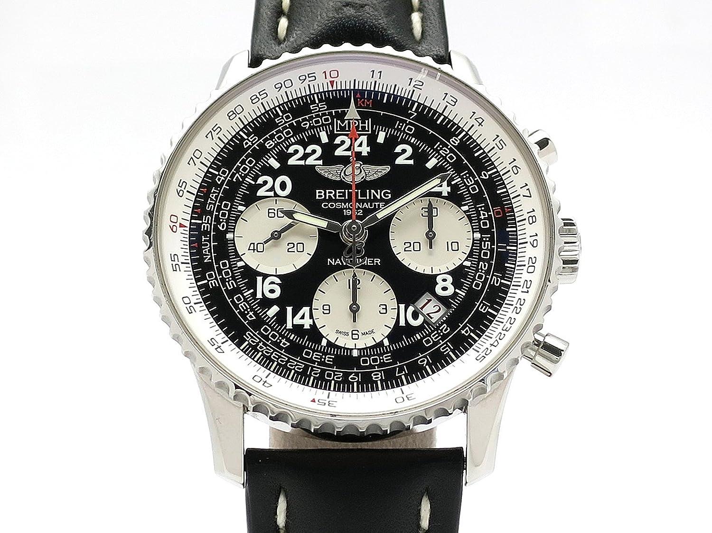 (ブライトリング)BREITLING 腕時計ナビタイマー コスモノート 世界限定1962本 A020B59KBD SS/革中古 B07CNV79D2