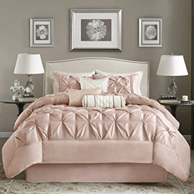 Madison Park Laurel Comforter Set, Blush