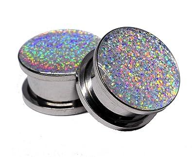 Amazon.com: Tornillo en enchufe. Enchufes con glitter ...