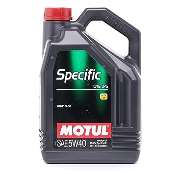 MOTUL 101719 Specific CNG/LPG 5 W-50 de 40, ...