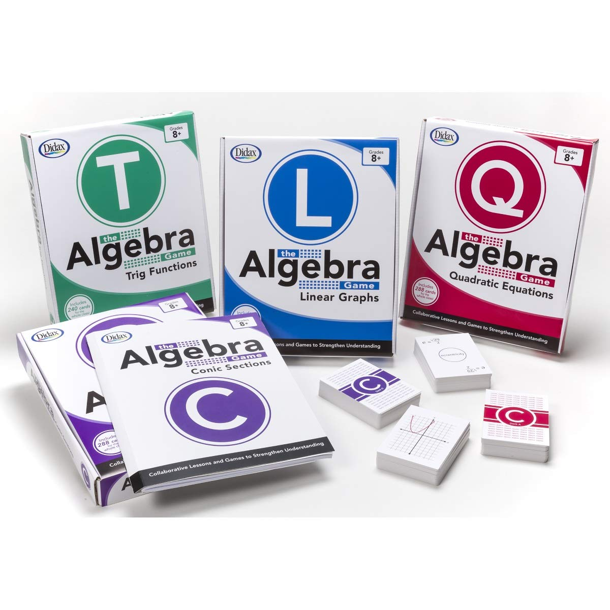 Didax Educational Resources The Algebra Game: Quadratic Equations Basic Educational Game