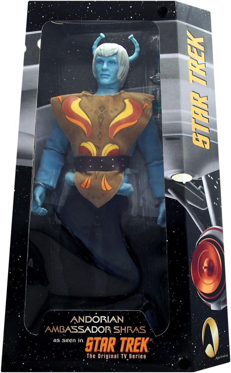 The Original Series 12 Andorian Ambassador Shiras As Seen in Star Trek First in a Series The Aliens /& Adversaries Edition