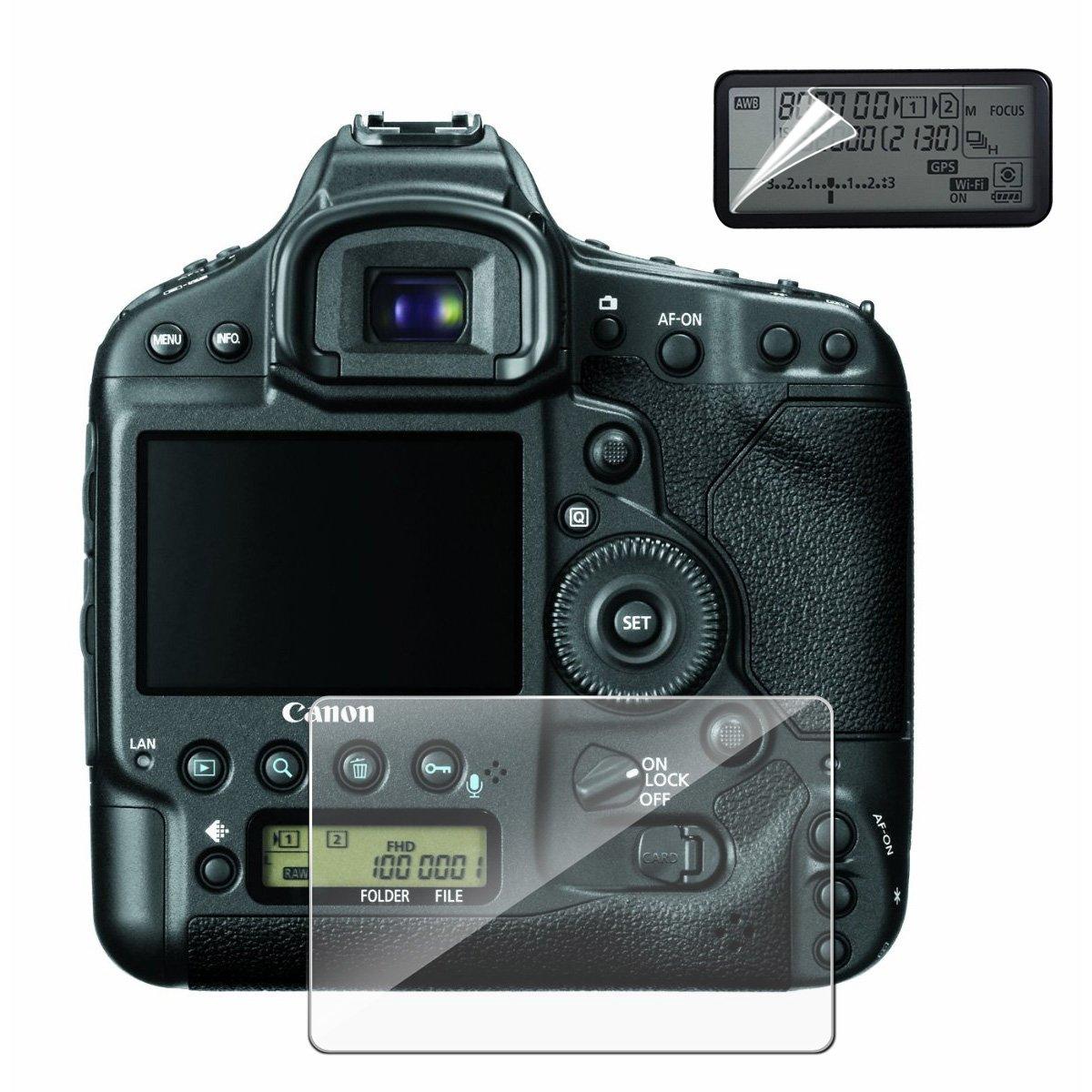 Fotocamera schermo per fotocamera DSLR Canon 7D GLASS no-bubble durezza 9H Crystal Clear x Myecogo ultra Clear LCD pellicola proteggi schermo in vetro temprato per fotocamere DSLR