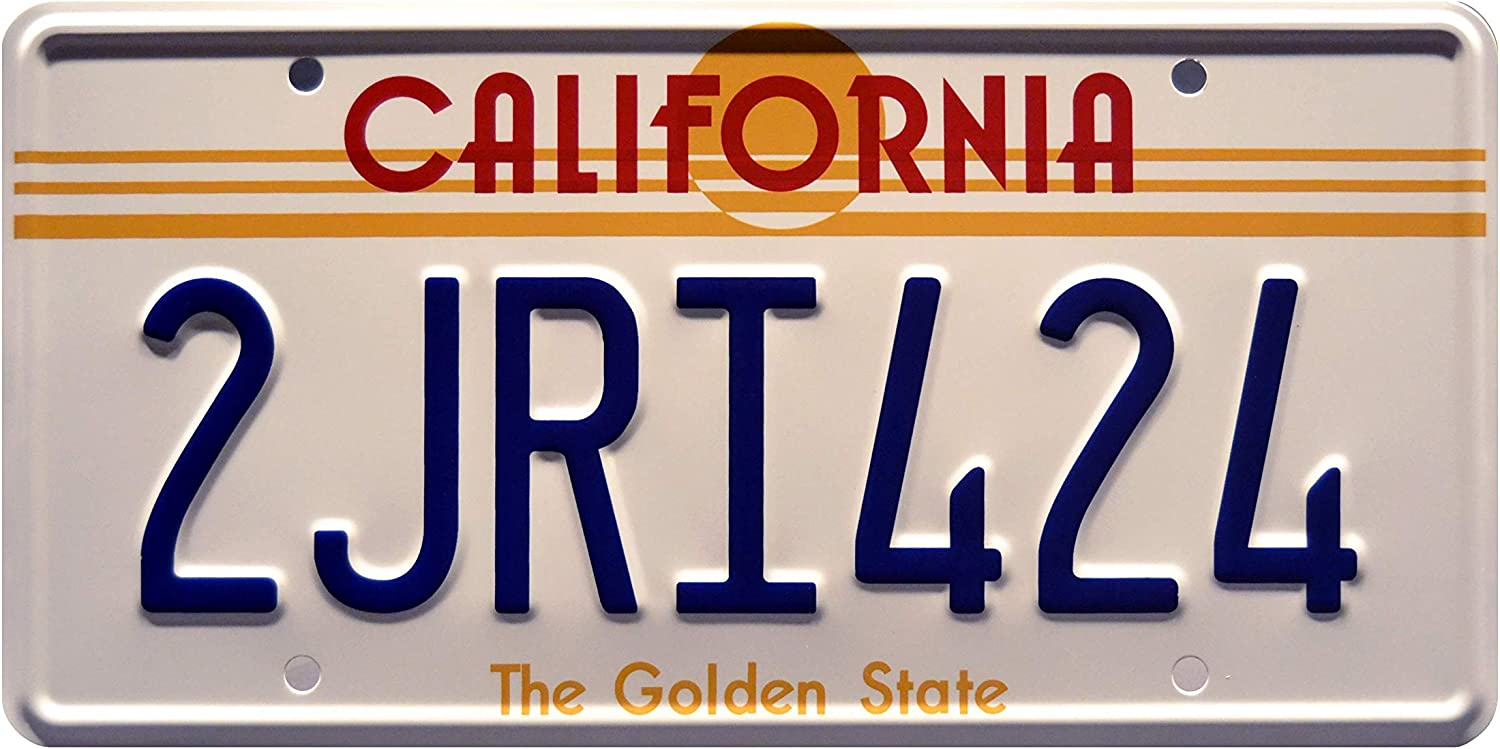 The Fast and the Furious 2JRI424 Stamped License Plate
