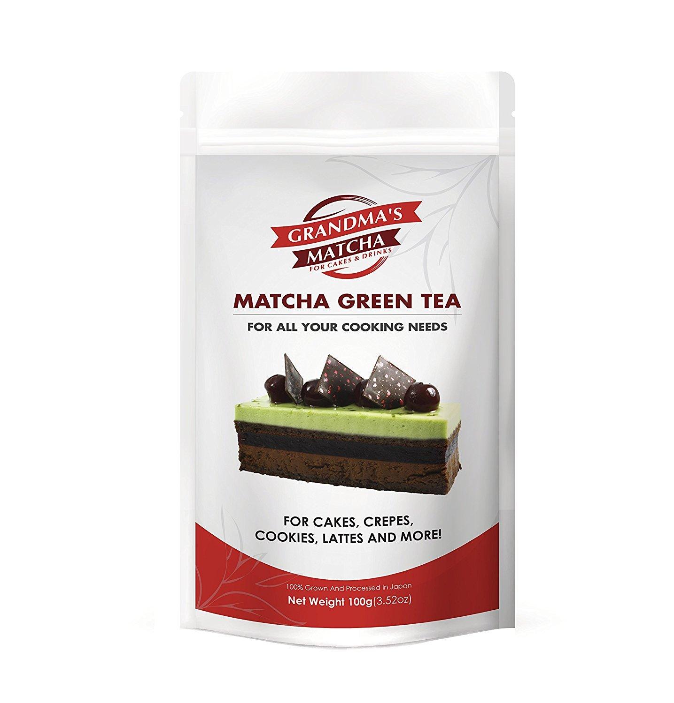 Matcha japonés diseñado específicamente para cocinar: pastelería, Batido de frutas, hielo, Latte - Grown y se envasa en Uji (200g): Amazon.es: Hogar