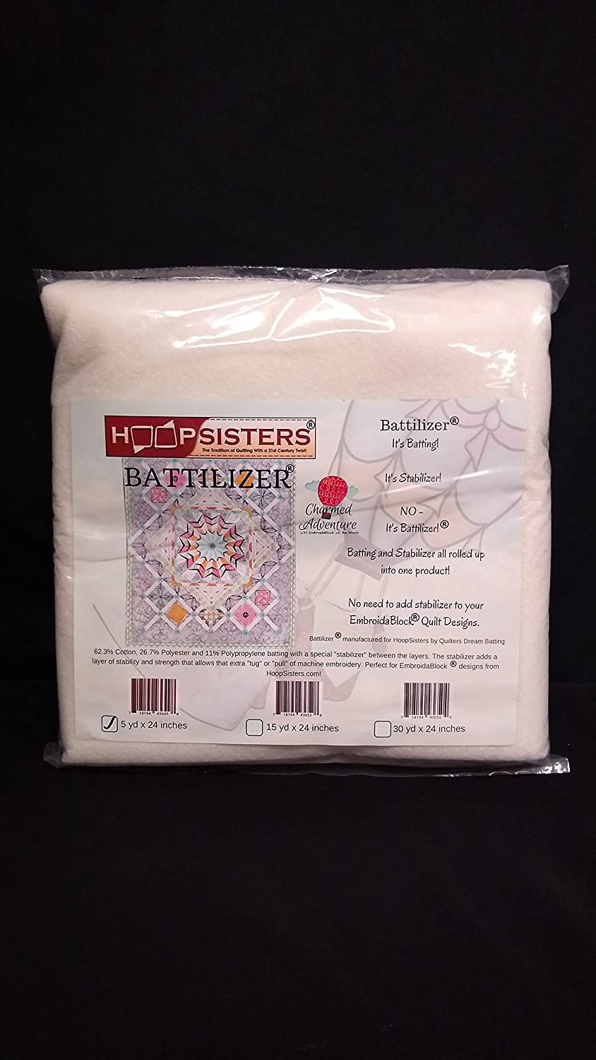 Hoop Sisters Battilizer Batting Stabilizer 24 Inches Wide By the Yard