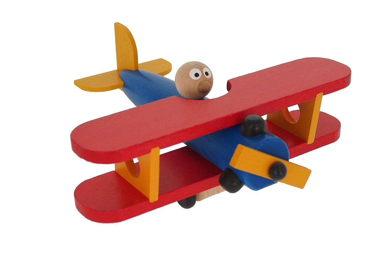 ABAfactory 68134 Flugzeug Doppeldecker Holz Spielzeug ABAfactory s.r.o. ABAfactory_68134