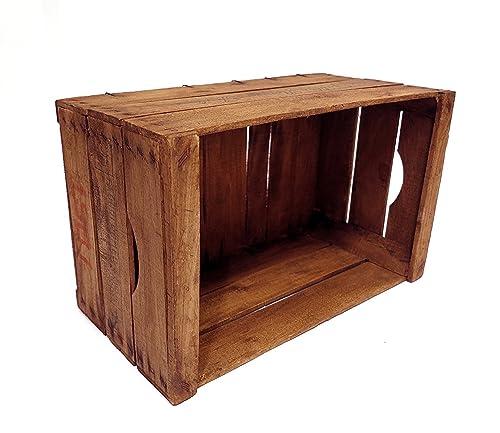 caja de madera de haya restaurada vintage // recomendada para ...