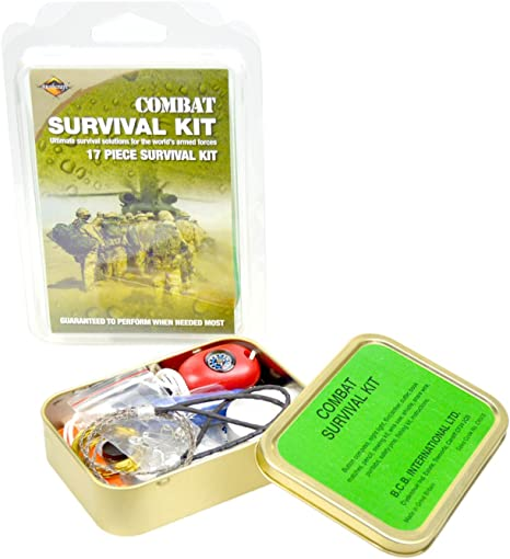 Bushcraft BCB Combat Survival Tin - Kit de Supervivencia: Amazon ...