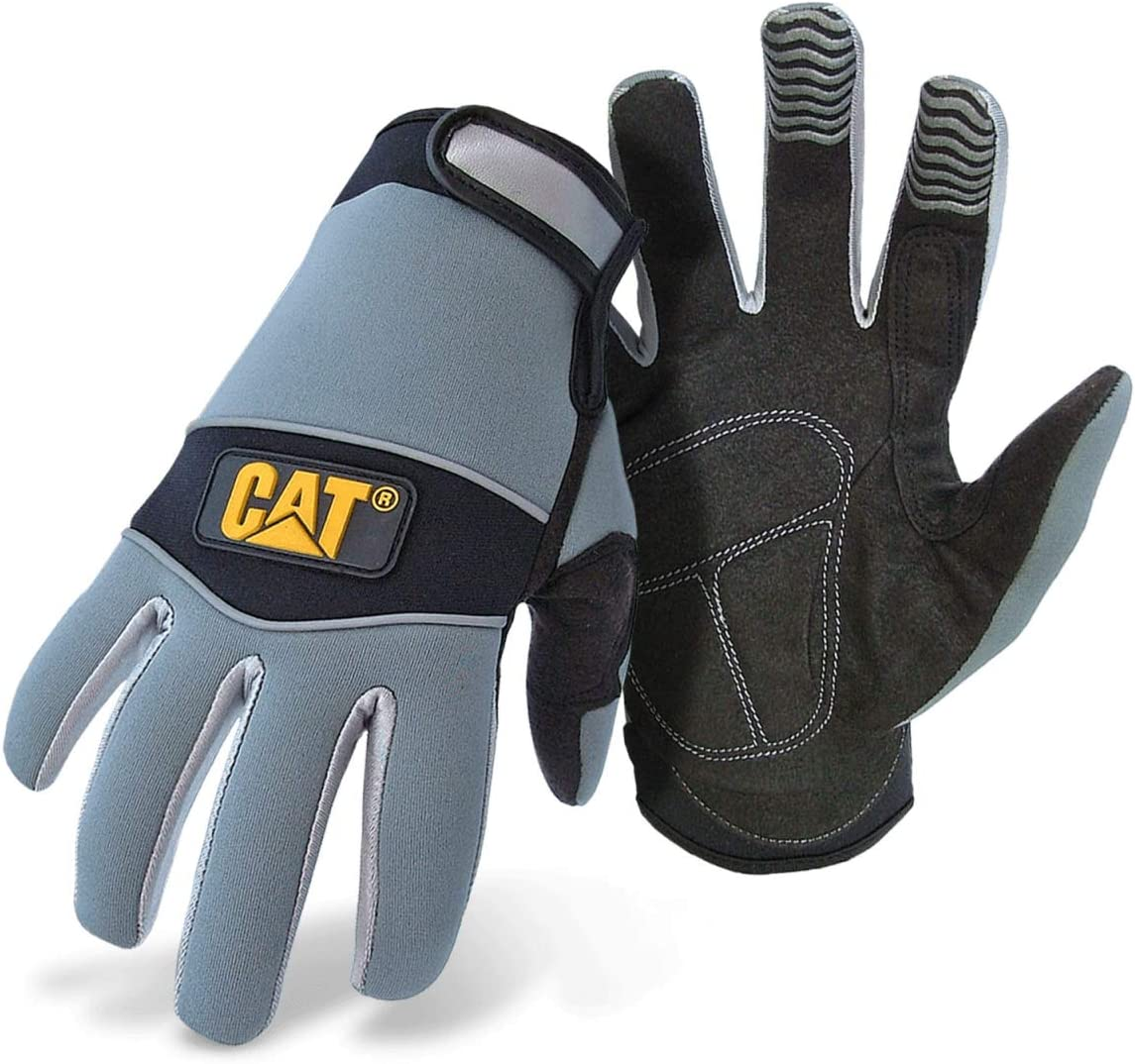 CAT Workwear Mens Workwear C12213 Neoprene Comfort Gloves