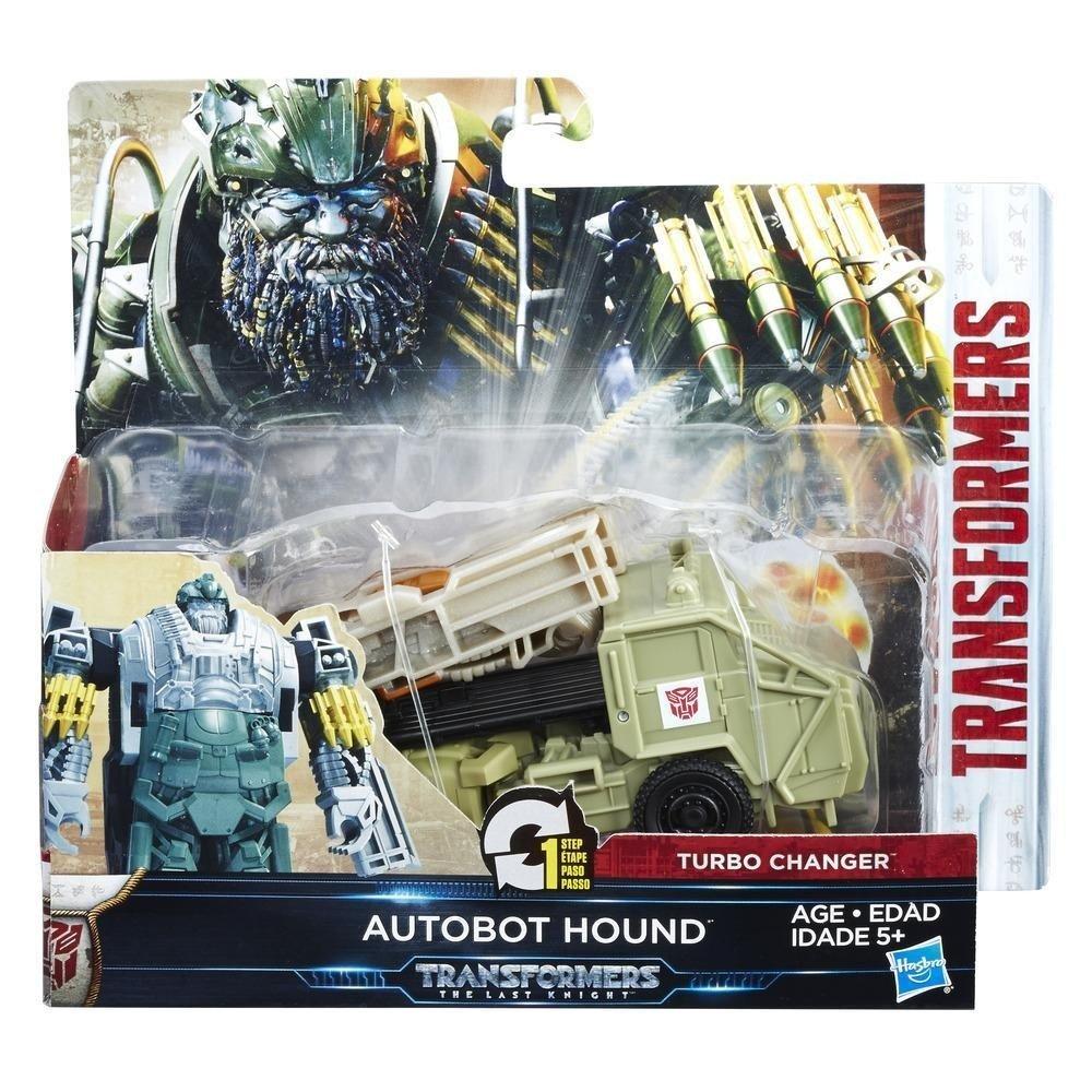 Hasbro Transformers C1314ES0 - Movie 5 Turbo Changer Autobot Hound, Actionfigur C1314ES1