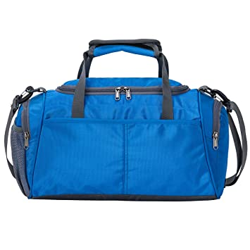 37c36f287a19 Kuston Small Sports Gym Bag Duffel bag mini travel duffel with shoe  compartment for Men Women