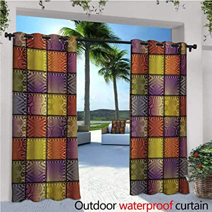 Best Fabric Outdoor Curtains.Amazon Com Fabric Outdoor Free Standing Outdoor Privacy