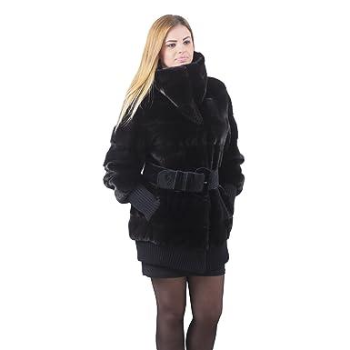 947534cd2a1f Blackglama Mink fur coat Full Skin at Amazon Women's Coats Shop