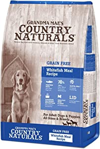 Grandma Mae'S 79700158 14 Lb Country Naturals Grain Free Fish Dog Food, One Size