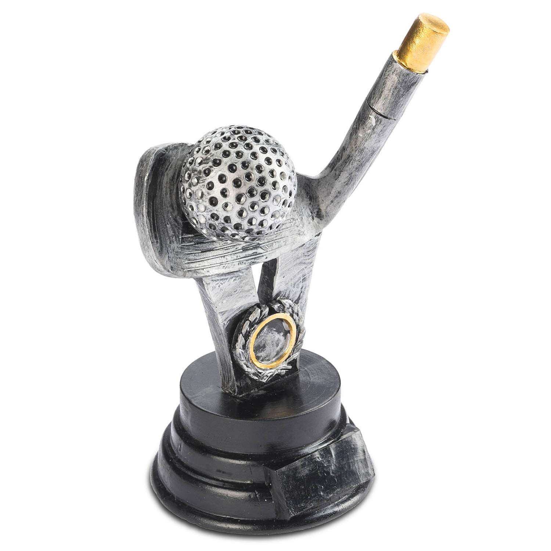 Goods & Gadgets - Trofeo de Golf, 18 cm, Personalizable: Amazon.es ...
