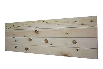 LA WEB DEL COLCHON Cabecero de Madera Palet (Cama 135) 145 x 44 cms