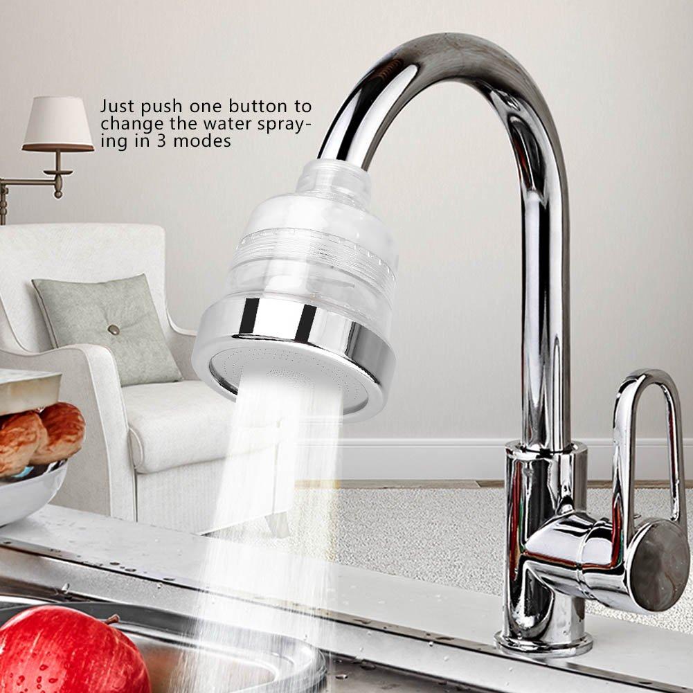 Fdit Grifo de Ahorro de Agua aireador de Filtro Boquilla Adaptador hogar Cocina Ba/ño Lavabo Accesorios