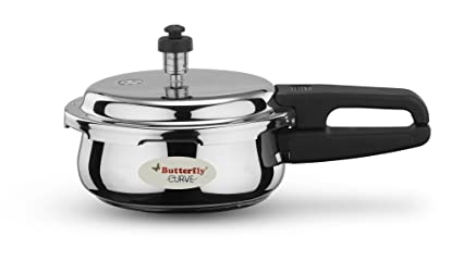 Butterfly Curve Stainless Steel Pressure Cooker, 2 Litre