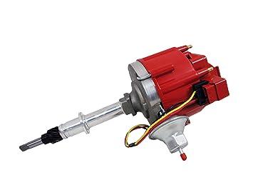 amazon com top street performance jm6511r 50k volt coil hei top street performance jm6511r 50k volt coil hei distributor red cap