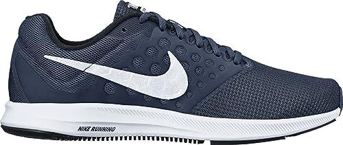Nike Downshifter 7 (4E), Zapatillas de Trail Running para Hombre, Azul (Midnight Navy/White/Dark Obsidian/Black 400), 39 EU: Amazon.es: Zapatos y complementos
