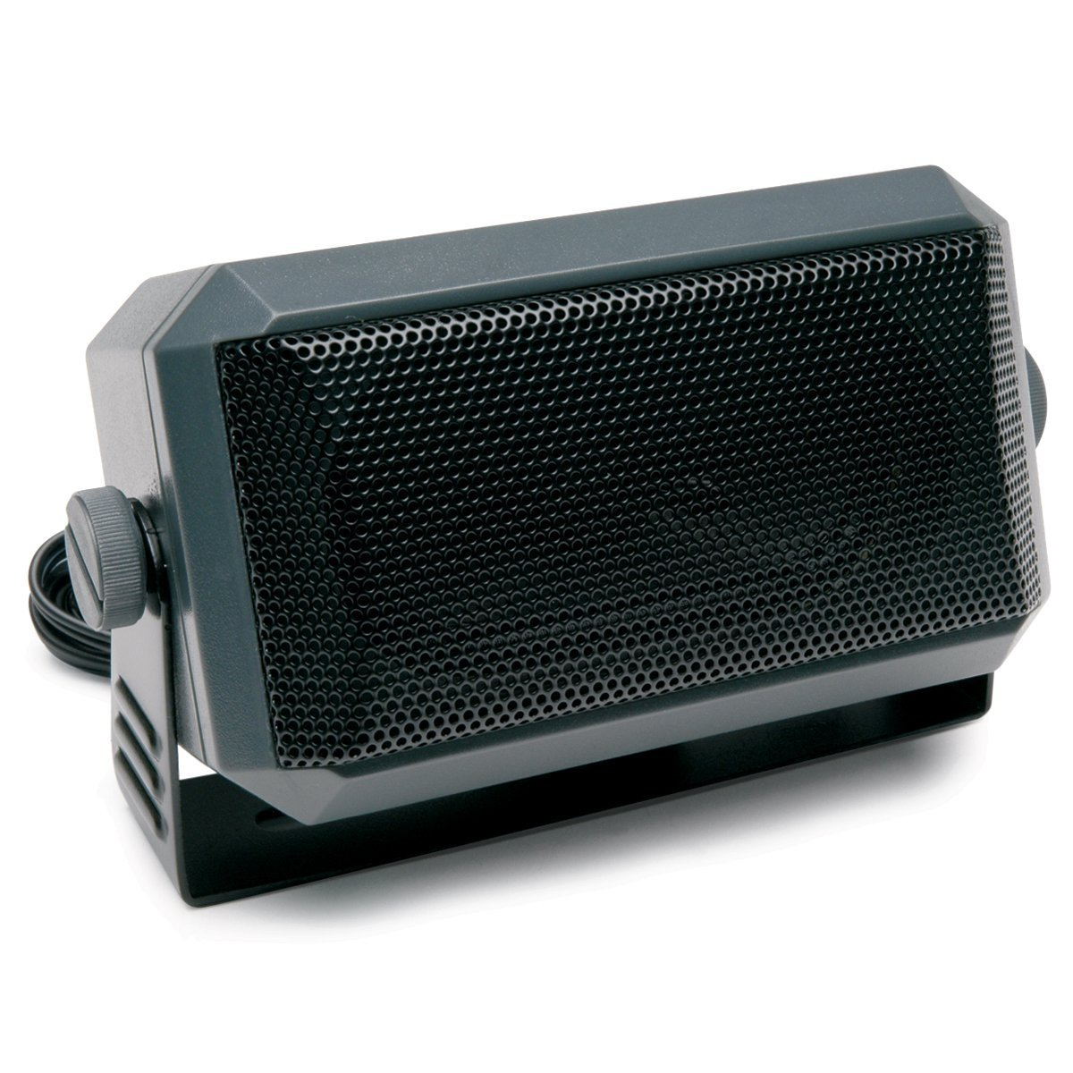 TOPMYS TM-ES604 CB Radio Speaker 8ohm 5W CB Extension Speaker with Swivel Bracket 1.85m cable 3.5mm Mono Plug