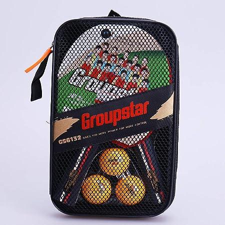 KUANDARPP Ping Pong Raquetas De Tenis De Mesa Raquetas De Ping ...