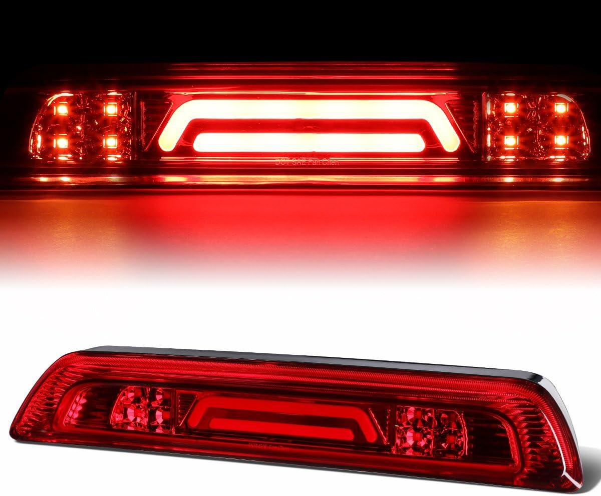 Chrome Housing 3D LED Bar 3rd Third Tail Brake Light Rear Cargo Lamp for Toyota Tundra 07-18