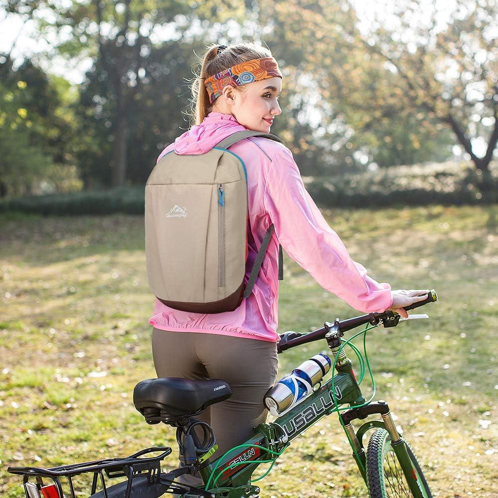 Zaino da Escursionismo Impermeabile Ultraleggero 10L per Scuola Viaggio Sport Ciclismo Bicicletta SKYSPER Zaino Casual 10L