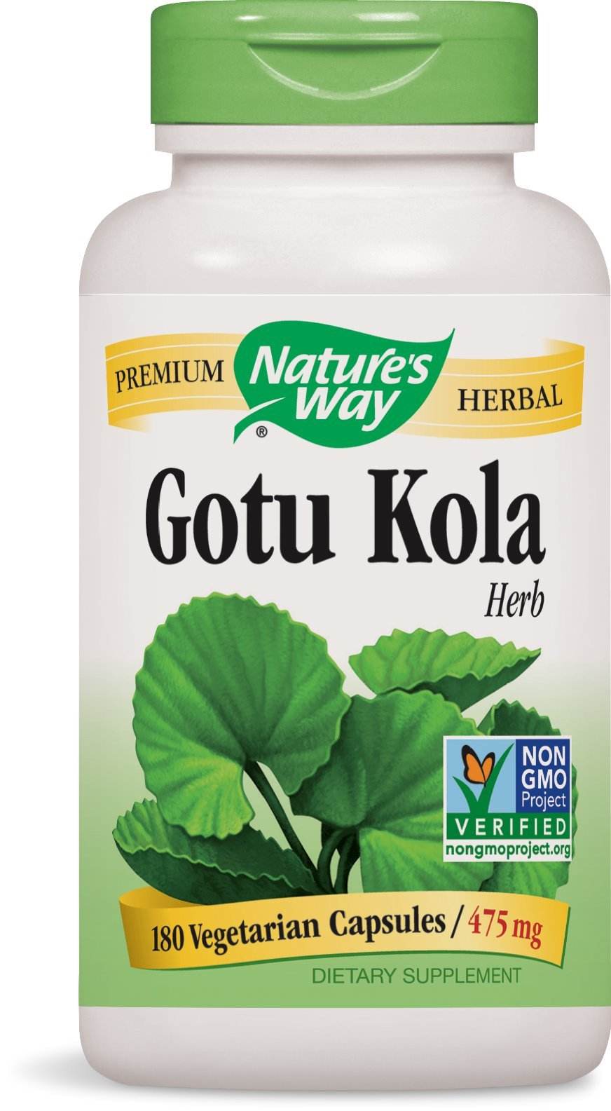 Nature's Way Gotu Kola Herb, 180 Capsules